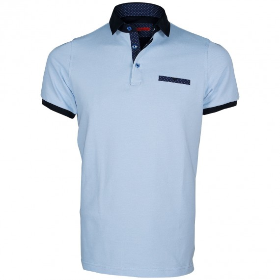 Polo col chemise WARREN Andrew Mc Allister E-VPOCKET4