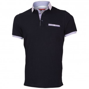 Polo col chemise WARREN Andrew Mc Allister E-VPOCKET6