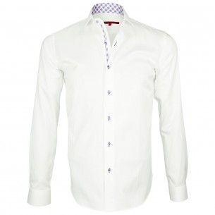 Shirt oxford fabric ELBOW Andrew Mc Allister Q1AM2
