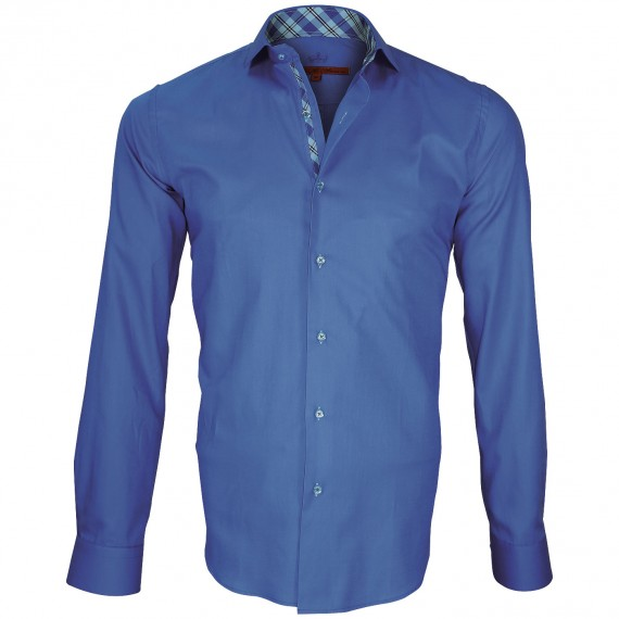 Camisa con coderas ELBOW Andrew Mc Allister Q1AM6