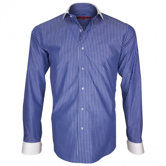 Camisa cuello italiano COOPER Andrew Mc Allister Q3AM4