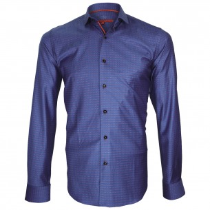 Chemise twill armuré HASTING Andrew Mc Allister Q4AM5