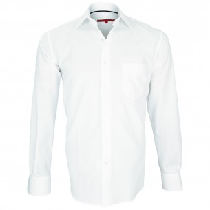Chemise blanche traditionnelle BUSINESS Andrew Mc Allister Q5AM2