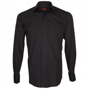 Chemise gorge cachée LORD Andrew Mc Allister Q6AM1