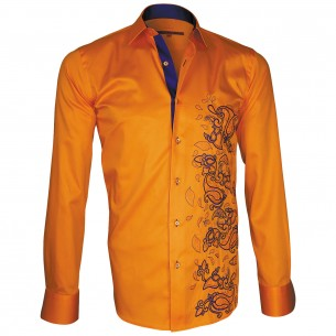 Chemise brodéePAYSLEY Andrew Mc Allister T2AM1