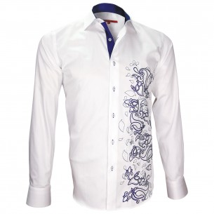Chemise brodéePAYSLEY Andrew Mc Allister T3AM1
