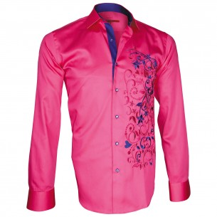 Chemise brodéeFLOWERTY Andrew Mc Allister T6AM1