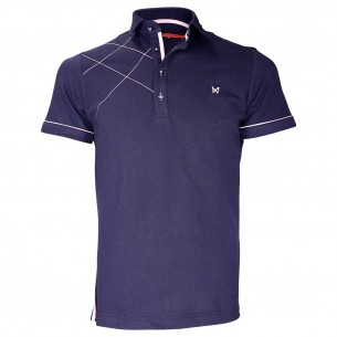 Polo brodéPLYMOUTH Andrew Mc Allister TM3-NAVY