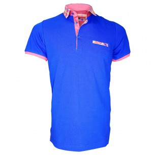 Polo fantaisieWEYMOUTH Andrew Mc Allister TM6-BLUE