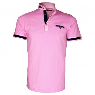 Polo col officierSOUTHAMPTON Andrew Mc Allister TM4-PINK