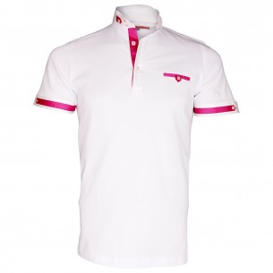 Polo col officierSOUTHAMPTON Andrew Mc Allister TM4-WHITE