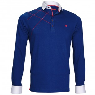 Polo Sweat brodéGORDON Andrew Mc Allister JML-BROD3