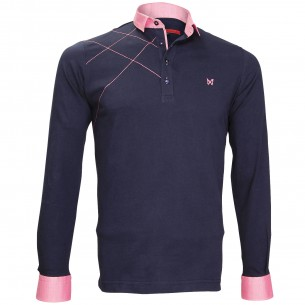 Polo Sweat brodéGORDON Andrew Mc Allister JML-BROD4