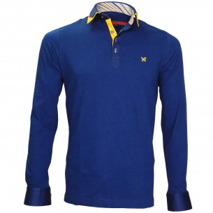 Polo Sweat double colPAXTON Andrew Mc Allister JML-COUD1