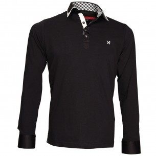 Polo Sweat double col
