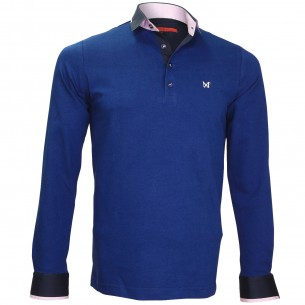 Polo Sweat en jersey