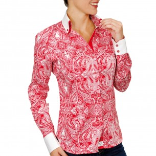 Chemise double colTIFFANY Andrew Mac Allister PF16AM2