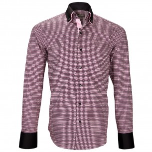 Chemise double col