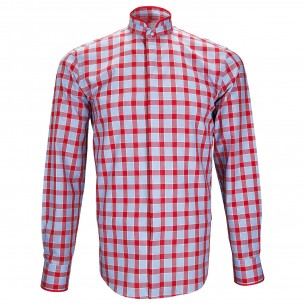 Chemise col maoWINCH Andrew Mac Allister ZB24AM4