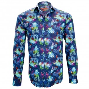 Chemise impriméeBICYCLE Andrew Mac Allister ZB3AM1