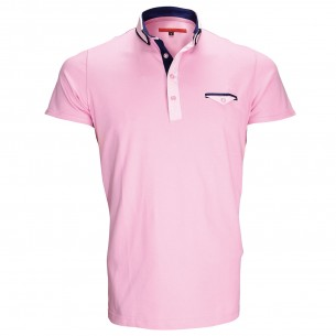 Polo double colJOHN Andrew Mac Allister ZB1-PINK