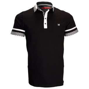 Polo modeRANDY Andrew Mac Allister ZB5-BLACK