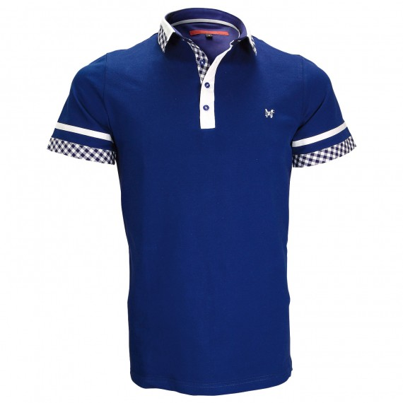 Polo modeRANDY Andrew Mac Allister ZB5-INDIGO