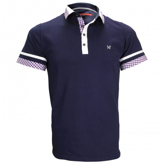 Polo modeRANDY Andrew Mac Allister ZB5-NAVY