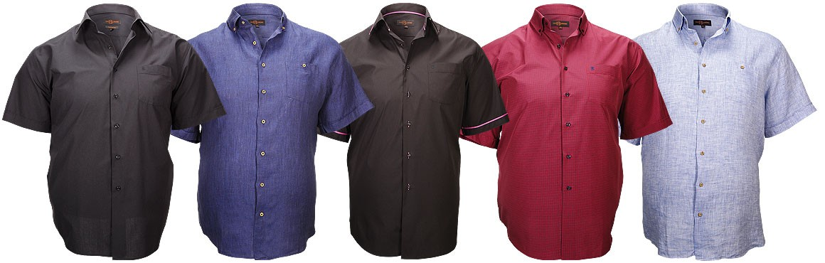 New large size man's shirts collection
