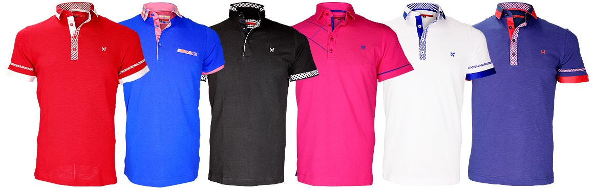 Nouvelle collection polo été 2018