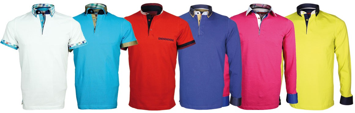 sales -50% polo long or short sleeves