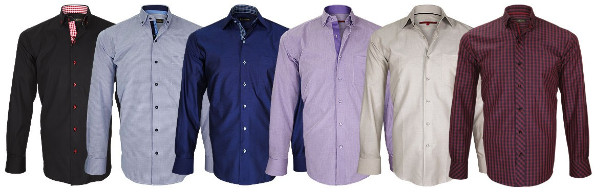 collection hver chemise coupe droite