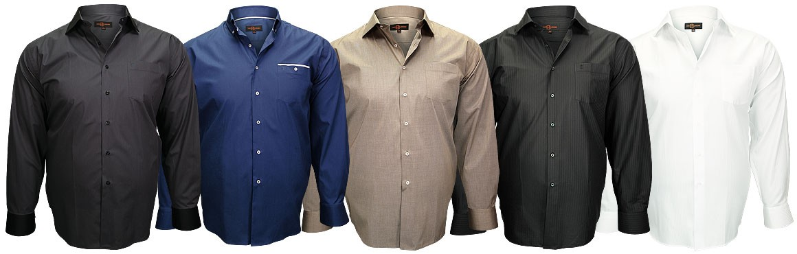 Nouvelle collection chemise grande taille