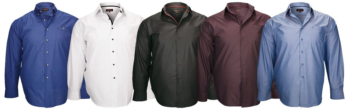 chemise homme grande taille hiver 2018