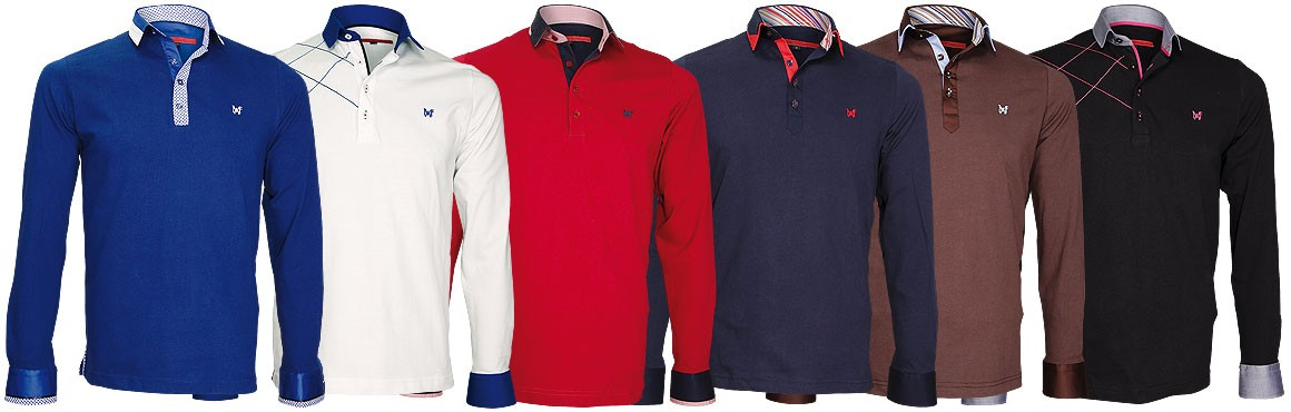 Nouvelle collection polo-sweat